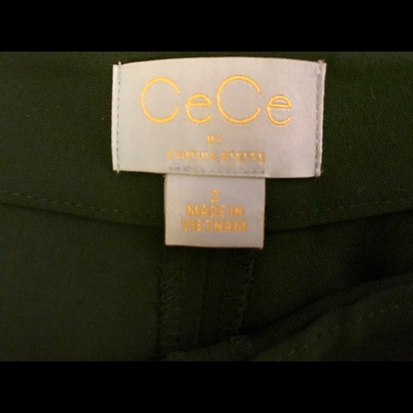 CeCe Other - Emerald Green Culottes